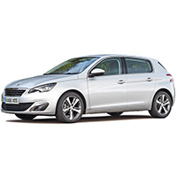 Peugeot 308 Boot Liners
