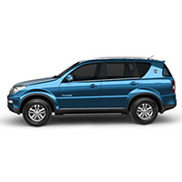Ssang Yong Rexton Boot Liners (2004 - 2012)