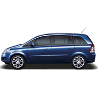 Vauxhall Zafira Boot Liners