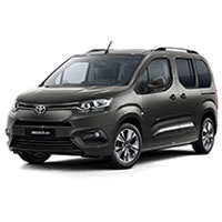 Toyota ProAce City Verso Boot Liners (2020 Onwards)