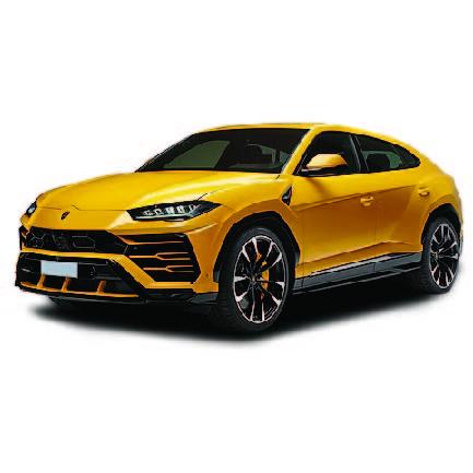 Lamborghini Urus 2018 Onwards